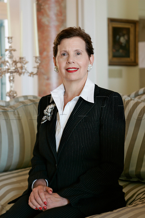 Adrienne Arsht gives a $30 million dollar gift to the Performing Arts Center. Here she is in her Italianate style home on Brickell Avenue in Miami.