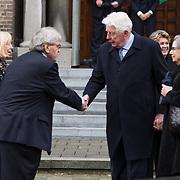 NLD/Rotterdam/20180220 - Herdenkingsdienst Ruud Lubbers, Wim Kok in gesprek met Bram Peper