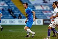 Jordan Keane. Stockport County FC 2-0 Chesterfield FC. Vanarama National League. 27.2.21 Edgeley Park.