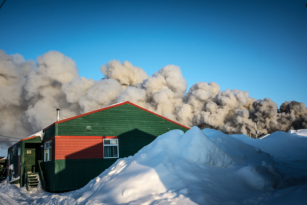 On april 9 2018, the old wheather station went on fire and was completely destroy.