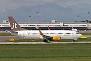 OY-JTD Jettime Boeing 737-3Y0(WL) at Malpensa (MXP / LIMC), Milan, Italy