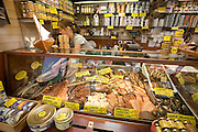 Kauppatori (Market Square). The Old Market Hall. Smoked fish and seafood specialties.