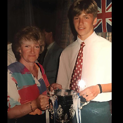 """David Beckham releases a photo on Instagram with the following caption: """"Happy Birthday to one of the most amazing mums and Grandma anyone could wish for.. Thank you for always being the person you are.. We love you and appreciate everything you do for us x \u2764\ufe0f @sandra_beckham49 @joannebeckham @lynnebeckham72"""". Photo Credit: Instagram *** No USA Distribution *** For Editorial Use Only *** Not to be Published in Books or Photo Books ***  Please note: Fees charged by the agency are for the agency's services only, and do not, nor are they intended to, convey to the user any ownership of Copyright or License in the material. The agency does not claim any ownership including but not limited to Copyright or License in the attached material. By publishing this material you expressly agree to indemnify and to hold the agency and its directors, shareholders and employees harmless from any loss, claims, damages, demands, expenses (including legal fees), or any causes of action or allegation against the agency arising out of or connected in any way with publication of the material."""