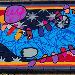 Asphalts Art in Reno for Bloomberg Philanthropies