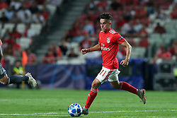September 19, 2018 - Lisbon, Portugal - Benfica's Argentine forward Franco Cervi in action during the UEFA Champions League Group E football match SL Benfica vs Bayern Munich at the Luz stadium in Lisbon, Portugal on September 19, 2018. (Credit Image: © Pedro Fiuza/NurPhoto/ZUMA Press)