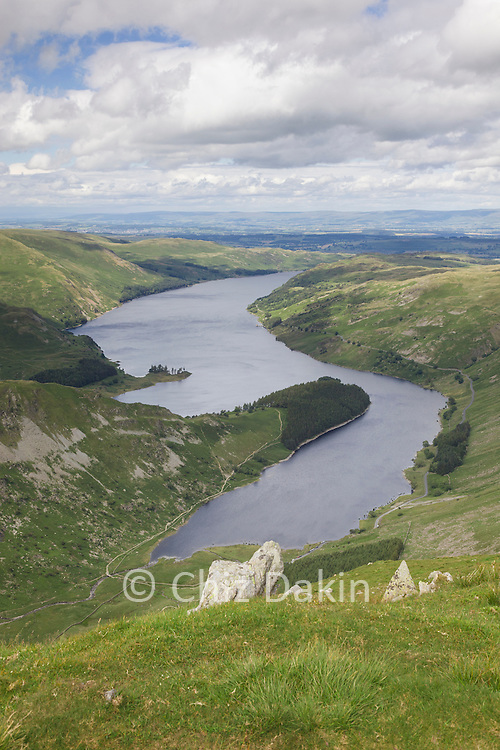 View along Haweswater from Harter Fell