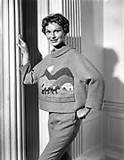 16th July 1958<br /> <br /> Raymond Kenna fashion show at the Shelbourne Hotel, Dublin.