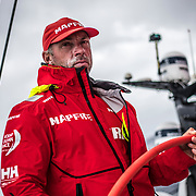 Leg 6 to Auckland, day 10 on board MAPFRE, Faces, Rob Greenhalgh. 16 February, 2018.