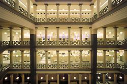 Stock photo of interior of University of Houston School of Architecture.