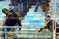 Roma 5 Febbraio 2003 - Coppa Italia<br />Lazio-Roma 1-2<br />Engagements between Fans and police before the match