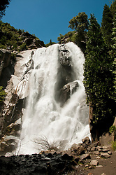Grizzly Falls, Kings Canyon National Park, California, USA.  Photo copyright Lee Foster.  Photo # california121654
