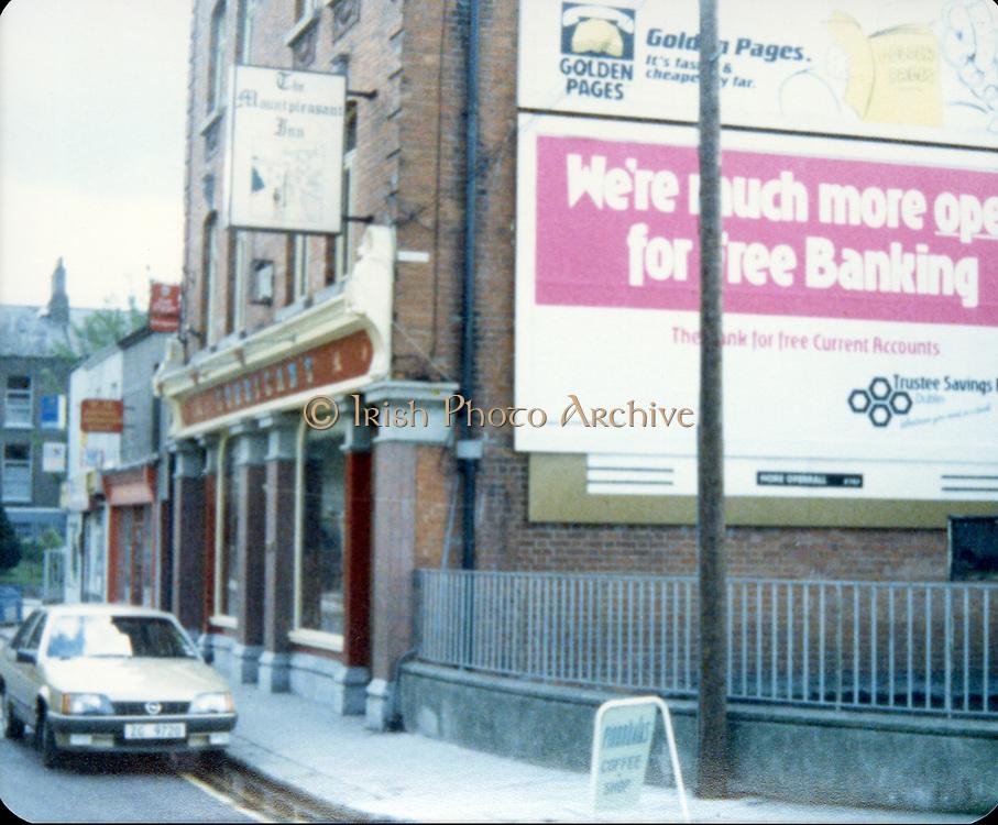 Old Dublin Amature Photos 1980s With Martello Tower, seaside, Veranda, Old amateur photos of Dublin streets churches, cars, lanes, roads, shops schools, hospitals