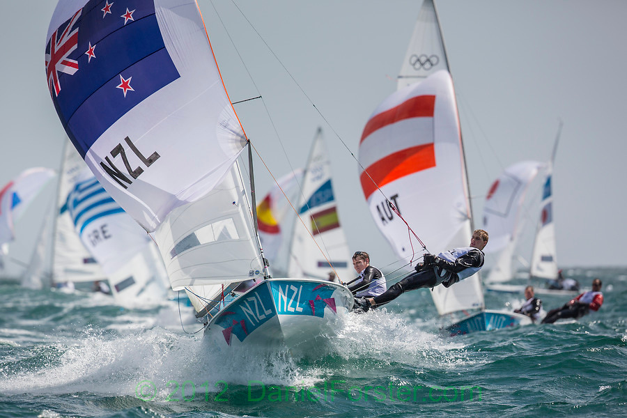 4mnzlSaunders Jason, Snow-Hansen Paul, (NZL, 470 Men)<br /> <br /> 2012 Olympic Games <br /> London / Weymouth