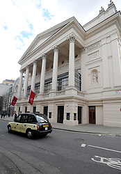 File photo dated 29/04/13 of a view of a Royal Opera House in London. The Royal Opera House, Southbank Centre, National Theatre and Royal Shakespeare Company are having their funding cut as a result of a new Arts Council settlement which will see more money go outside London.
