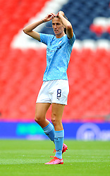Jill Scott of Manchester City Women- Mandatory by-line: Nizaam Jones/JMP - 29/08/2020 - FOOTBALL - Wembley Stadium - London, England - Chelsea v Manchester City - FA Women's Community Shield
