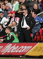 Photo: Lee Earle.<br /> Southampton v Cardiff City. Coca Cola Championship. 21/10/2007. Cardiff manager Dave Jones.