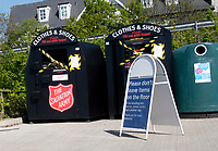 the salvation army clothes and shoes collection points in bicester closed  due to the coronavirus