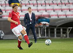 Mads Bech Sørensen (Danmark) under U21 EM2021 Kvalifikationskampen mellem Danmark og Ukraine den 4. september 2020 på Aalborg Stadion (Foto: Claus Birch).