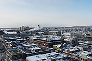 View of Ottawa and Gatineau Skyline from the top of Andaz Hotel, 325 Dalhousie, Ottawa