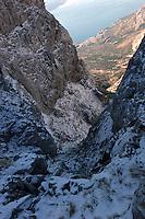 Fjelltur sør i de Dinariske Alper, trekking south in the Dinarian Alps