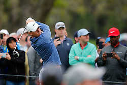 March 16, 2019 - Ponte Vedra Beach, FL, U.S. - PONTE VEDRA BEACH, FL - MARCH 16: Rory McIlroy of Northern Ireland plays a shot on the 12th hole during the third round of THE PLAYERS Championship on March 16, 2019 on the Stadium Course at TPC Sawgrass in Ponte Vedra Beach, Fl. (Photo by David Rosenblum/Icon Sportswire) (Credit Image: © David Rosenblum/Icon SMI via ZUMA Press)