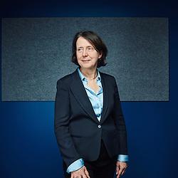 Paris, France. March 5, 2015. Barbara Dalibard, head of the traveller's division at SNCF. Photo: Antoine Doyen
