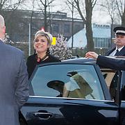 NLD/Amsterdam/20180412 - Prins Constantijn en Prinses Laurentien aanwezig bij uitreiking World Press Photo of the Year, Prinses Laurentien