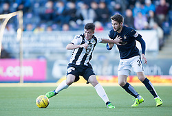 Falkirk's Luke Leahy. <br /> Falkirk 3 v 0 St Mirren. Scottish Championship game played 21/10/2015 at The Falkirk Stadium.
