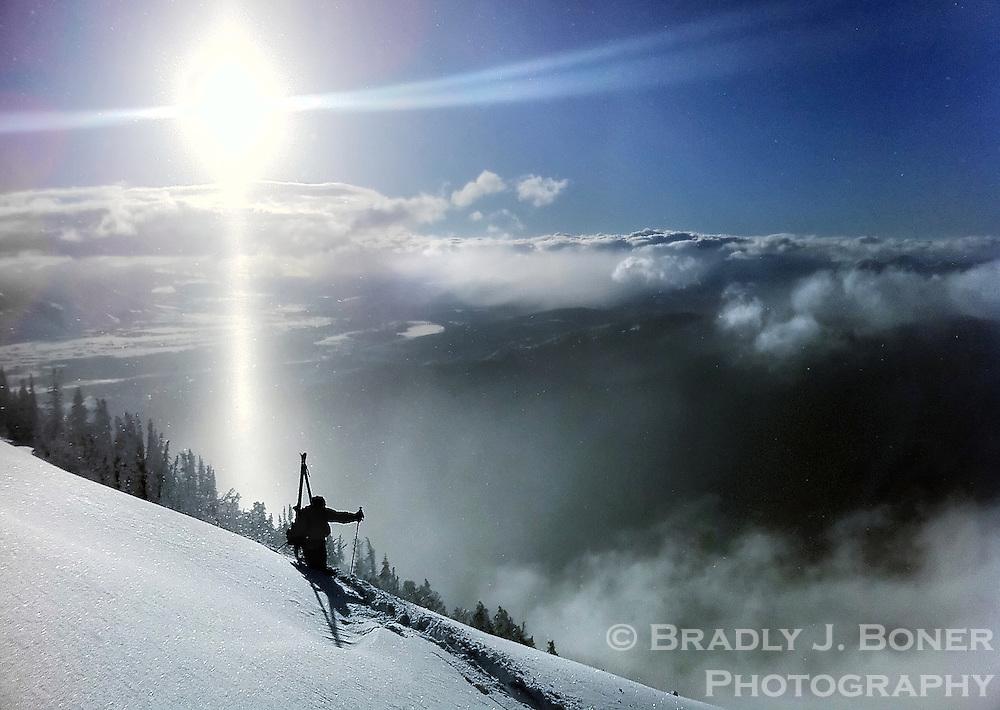 Bootpack on Mt. Glory
