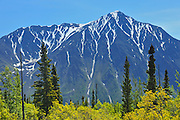 St. Elias Mountains, a subgroup of the Pacific Coast Ranges<br /> Kluane National Park<br /> Yukon<br /> Canada