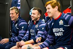 Andy Uren looks on in the Bristol Rugby dressing room - Rogan/JMP - 22/12/2017 - RUGBY UNION - Ashton Gate Stadium - Bristol, England - Bristol Rugby v Cornish Pirates - Greene King IPA Championship.