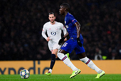Kurt Zouma of Chelsea - Mandatory by-line: Ryan Hiscott/JMP - 10/12/2019 - FOOTBALL - Stamford Bridge - London, England - Chelsea v Lille - UEFA Champions League group stage