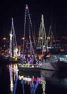 Monterey Holiday Lighted Boats 2014