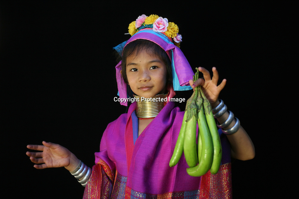 Longneck village in Thailand