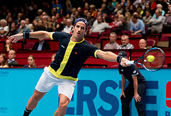 25.10.2016, Stadthalle, Wien, AUT, ATP Tour, Erste Bank Open, 1. Runde, im Bild Feliciano Lopez (ESP) // Feliciano Lopez of Spain during the 1st round match of Erste Bank Open of ATP Tour at the Stadthalle in Vienna, Austria on 2016/10/25. EXPA Pictures © 2016, PhotoCredit: EXPA/ Sebastian Pucher