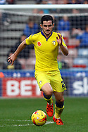 Lewis Cook of Leeds united in action. Skybet football league Championship match, Huddersfield Town v Leeds United at the John Smith's Stadium in Huddersfield, Yorks on Saturday 7th November 2015.<br /> pic by Chris Stading, Andrew Orchard sports photography.