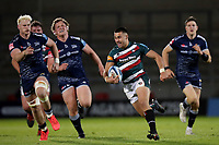 Rugby Union - 2020 / 2021 Gallagher Premiership - Round 18 - Sale Sharks vs Leicester Tigers - A J Bell Stadium<br /> <br /> Dan Kelly of Leicester Tigers
