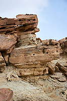 Sandstone rock formations, Irish Canyon, Colorado, USA   Photo: Peter Llewellyn