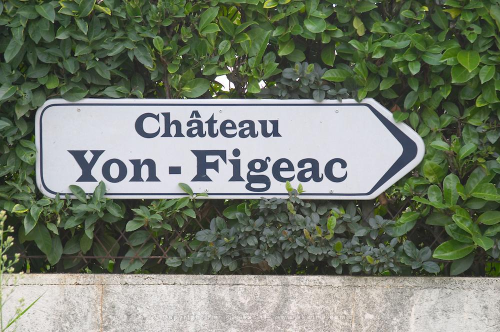 Chateau Yon Figeac. Saint Emilion, Bordeaux, France