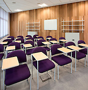 chairs in training room in hospital