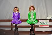 Photo of two Step Dancers at the Dublin Irish Festival in Dublin, Ohio.