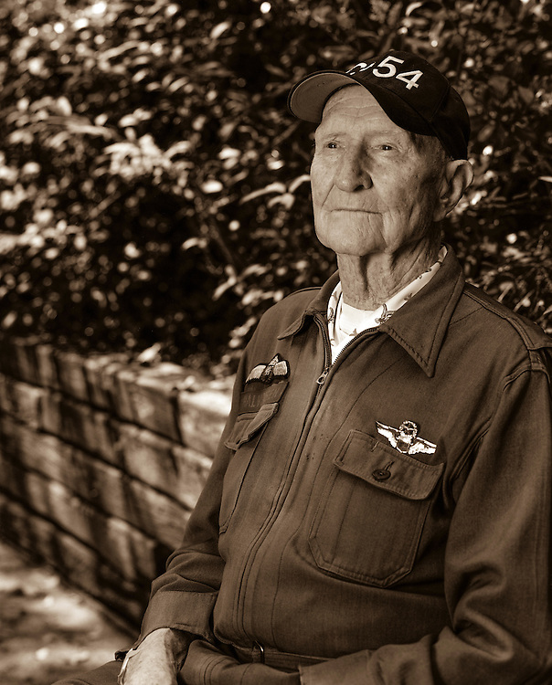 Col. (Ret.) Gail Halvorsen became famous as the Berlin Candy Bomber during the Berlin Airlift.  He was later the commander at Templehof Airport.  <br /> <br /> Created by aviation photographer John Slemp of Aerographs Aviation Photography. Clients include Goodyear Aviation Tires, Phillips 66 Aviation Fuels, Smithsonian Air & Space magazine, and The Lindbergh Foundation.  Specialising in high end commercial aviation photography and the supply of aviation stock photography for advertising, corporate, and editorial use.
