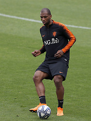 Ryan Babel of Holland during a training session prior to the International friendly match between Italy and The Netherlands at Allianz Stadium on June 03, 2018 in Turin, Italy