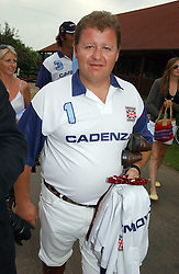 TONY PIDGLEY at the Queen's Cup polo final sponsored by Cartier at Guards Polo Club, Smith's Lawn, Windsor Great Park on 18th June 2006.  The Final was between Dubai and the Broncos polo teams with Dubai winning.<br /><br />NON EXCLUSIVE - WORLD RIGHTS