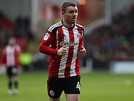 John Fleck of Sheffield United during the English Football League One match at Bramall Lane, Sheffield. Picture date: December 31st, 2016. Pic Jamie Tyerman/Sportimage