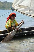 Indígenas guna / comarca de Guna Yala, Panamá.<br /> <br /> Indígenas kuna / comarca de Kuna Yala, Panamá.