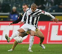 Fotball<br /> Bundesliga Tyskland<br /> Foto: Witters/Digitalsport<br /> NORWAY ONLY<br /> <br /> 09.12.2006<br /> v.l. Nikolce Noveski, Kahe Gladbach<br /> <br /> Bundesliga Borussia Mönchengladbach - FSV Mainz 05 1:1