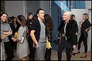 ANDREAS SIEGFRIED; AMANDA ELIASCH, James Franco exhibition 'Fat Squirrel' at Siegfried Contemporary, Basset Rd, London W10. 23 November 2014.