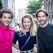 NLD/Amsterdam//20170706 - Lancering 'GTST' Magazine, Alkan Coklu, Melissa Drost en Jord Knotter