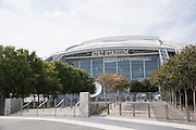 A general view of AT&T Stadium in Arlington, Texas home to the Dallas Cowboys on October 25, 2016. (Cooper Neill for The Texas Tribune)